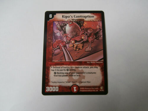Carte Duel Masters Kipo/'s Contraption Rare !!!