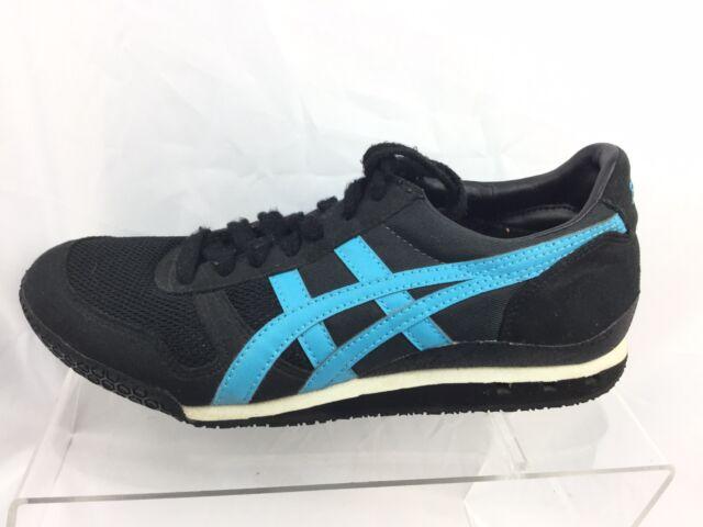 newest 40191 40bf9 ASICS Onitsuka Tiger Ultimate 81 Black/blue Women's Running Shoes - Sz 6 M  D05CJ