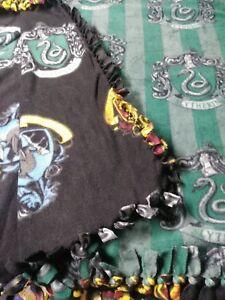 Harry Potter Ravenclaw No-Sew Fleece Throw Blanket