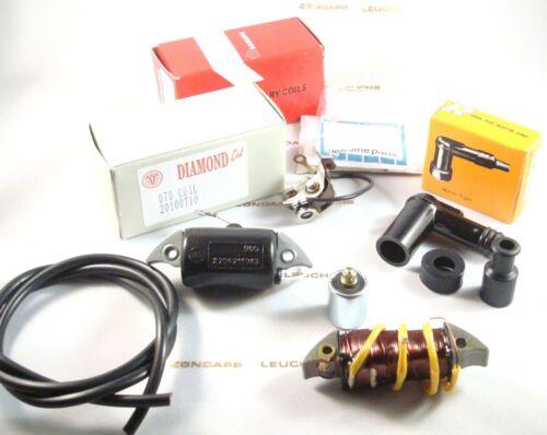 Zündapp 6V Zündung Reperaturset 6 teilig 54mm Anlage ZD 20 40 Typ 446