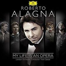 ROBERTO ALAGNA/LONDON ORCHESTRA/YVAN CASSAR - MY LIFE IS AN OPERA 2 CD NEU