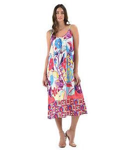 NEW Jams World Sherry Dress Flower Song Hawaiian Sundress XL Made in USA