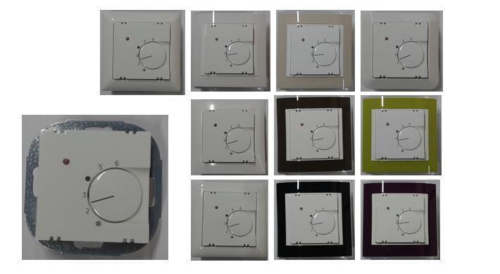 BEKA Raumthermostat Temperaturregler + Rahmen Gira, Berker, Merten, Jung wählbar | Haben Wir Lob Von Kunden Gewonnen