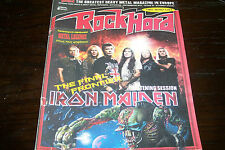 ROCK HARD MAG 8-9/2010 IRON MAIDEN BLIND GUARDIAN METAL LEGENDS