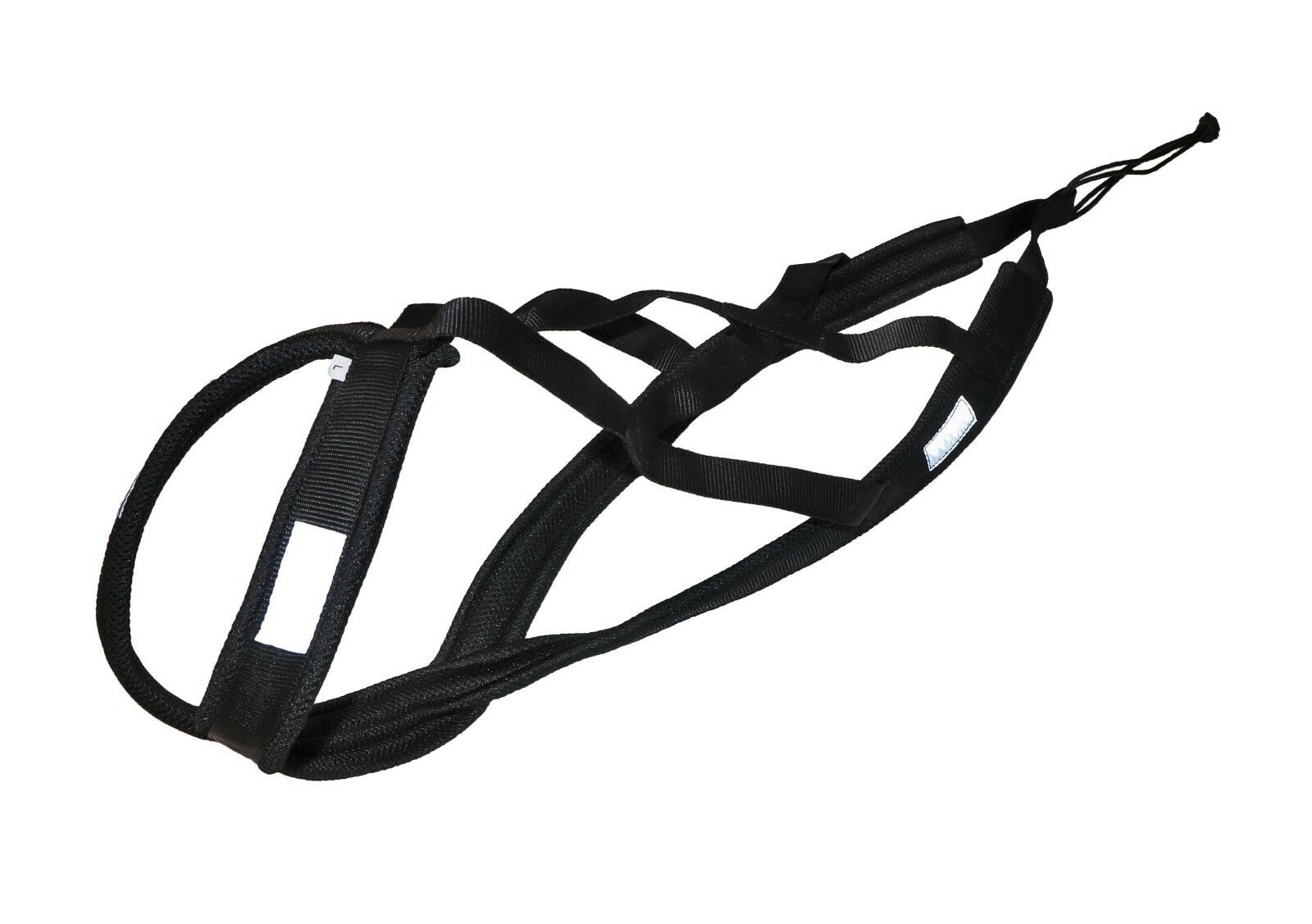 Weight Pulling Dog Harness,X-Back Style,Bike,Canicross,Jogging,Sled in schwarz