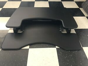 VARIDESK Pro Plus 36 Sit Stand Desk Solution Black Max Load 35lbs