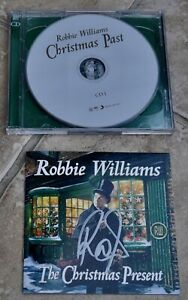 Robbie Williams The Christmas Present Signed CD Album   eBay
