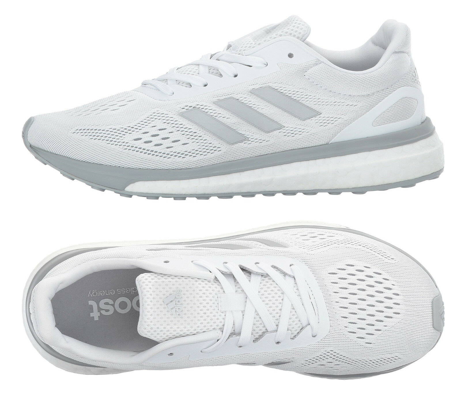 Femmes Chaussures de course Adidas Sonic Drive - Baskets blanches Adidas Boost BA7784 NEW