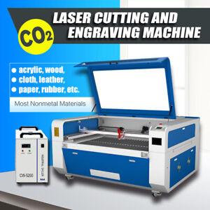 """RECI 51""""x35"""" CO2 Laser Engraving Cutting Machine 180W USB Disk RUIDA Panel FDA"""