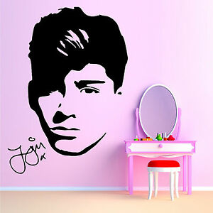 Image Is Loading ONE DIRECTION ZAYN MALIK Vinyl Wall Art Sticker  Part 88