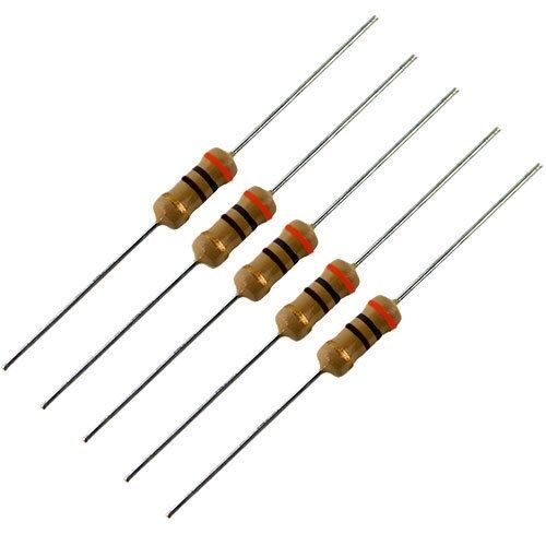 20 ohm 1 watt 5/% carbon film resistors 5 pack