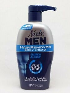 1 Nair Men Hair Remover Body Cream Quick Easy Back Chest Arms