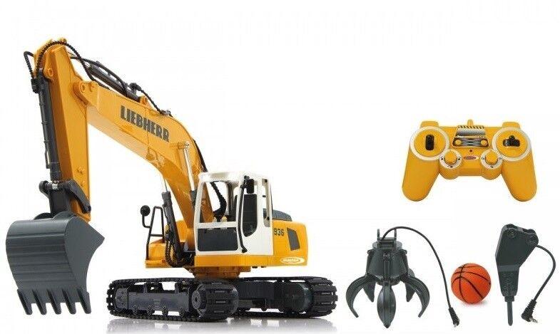 JAM405112 - LIEBHERR R936 sur chenilles radio-control et accessoires pour démoli