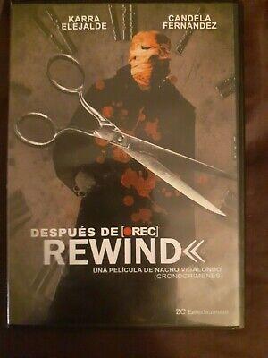 Despues De Rewind Dvd In Spanish With No English Subtitles Ebay