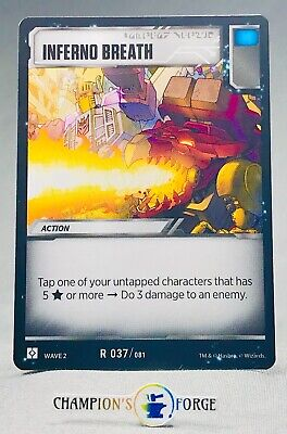 Transformers TCG Rise of the Combiners Unleash Potential #R 079 Rare
