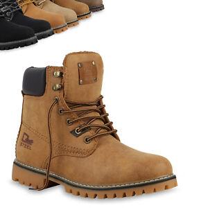 Schuhe-Herren-Worker-Boots-Outdoor-Schnuerstiefel-813383-Top