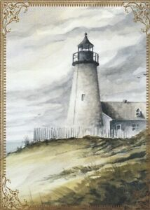 Modern-Wide-Lighthouses-P6-Lighthouse-With-Pickett-Fence-Swap-Playing-Card