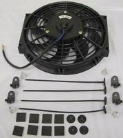 10 Heavy Duty Electric Curved S-blade Radiator Cooling Fan W/ Mounting Kit