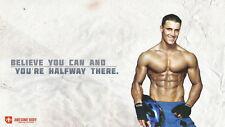"""056 Greg Plitt - American Fitness Model Actor 25""""x14"""" Poster"""