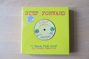 I-WANNA-BE-A-PUNK-UK-10-x-7-034-box-Set-Step-Forward-Singles-Chelsea-Sham-69-New
