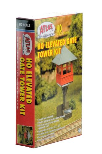 Elevated Gate Tower Atlas HO Scale Structure Kit