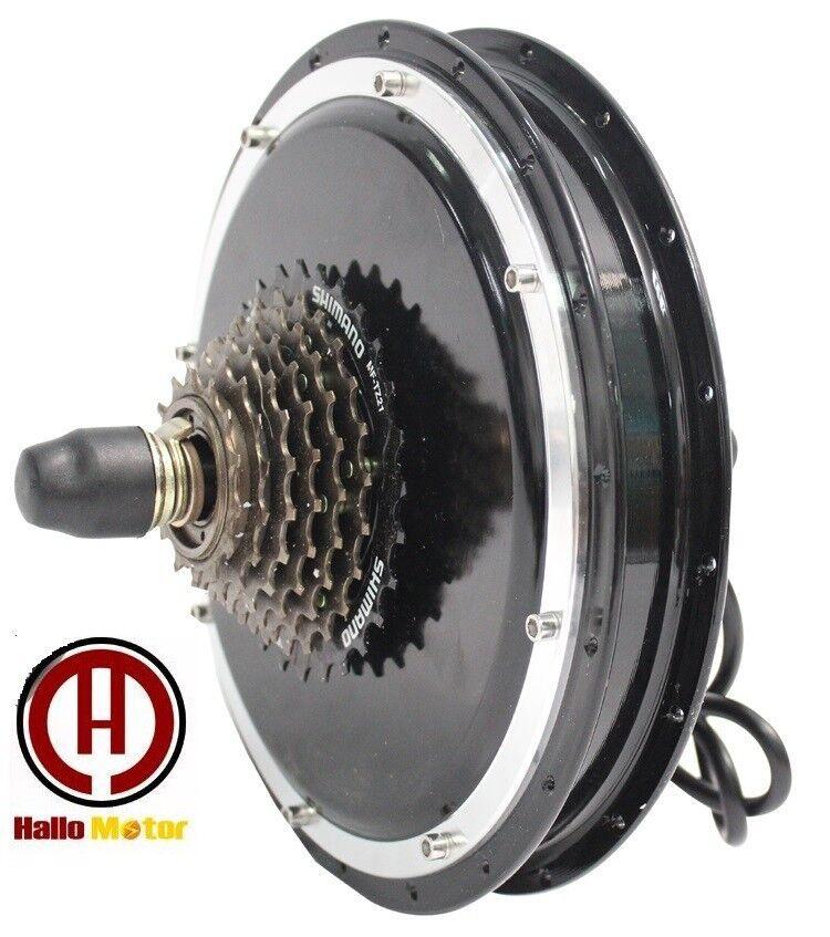 RisunMotor 36V 48V 1500W Ebike Front or Rear Threaded Hub Motor for Ebike