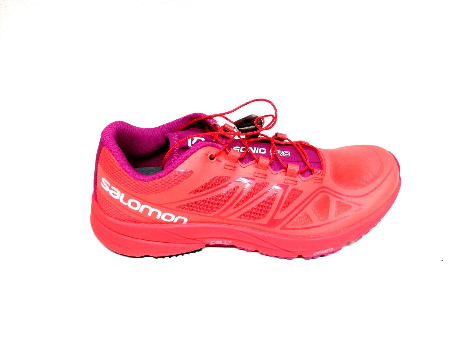 Salomon Sonic pro rosado W coral punch, naranja rosado pro 37 1 3 Zapatos señora 03e953
