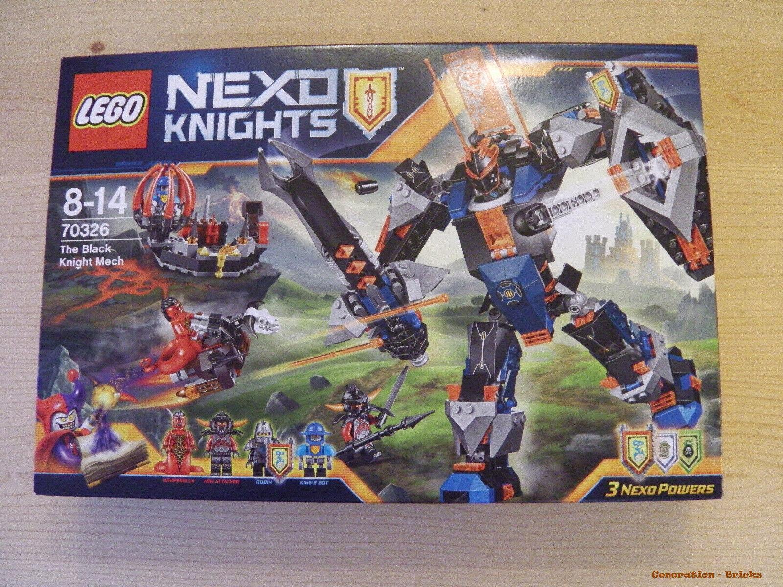 LEGO® NEXO KNIGHTS™ (70326) Der Mech des schwarzen Ritters inkl Versand