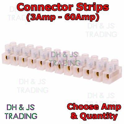 Frank 12 Way Connector Strip Block 3 - 60 Amp Electrical Choc Terminal Wire Connection SchöNe Lustre