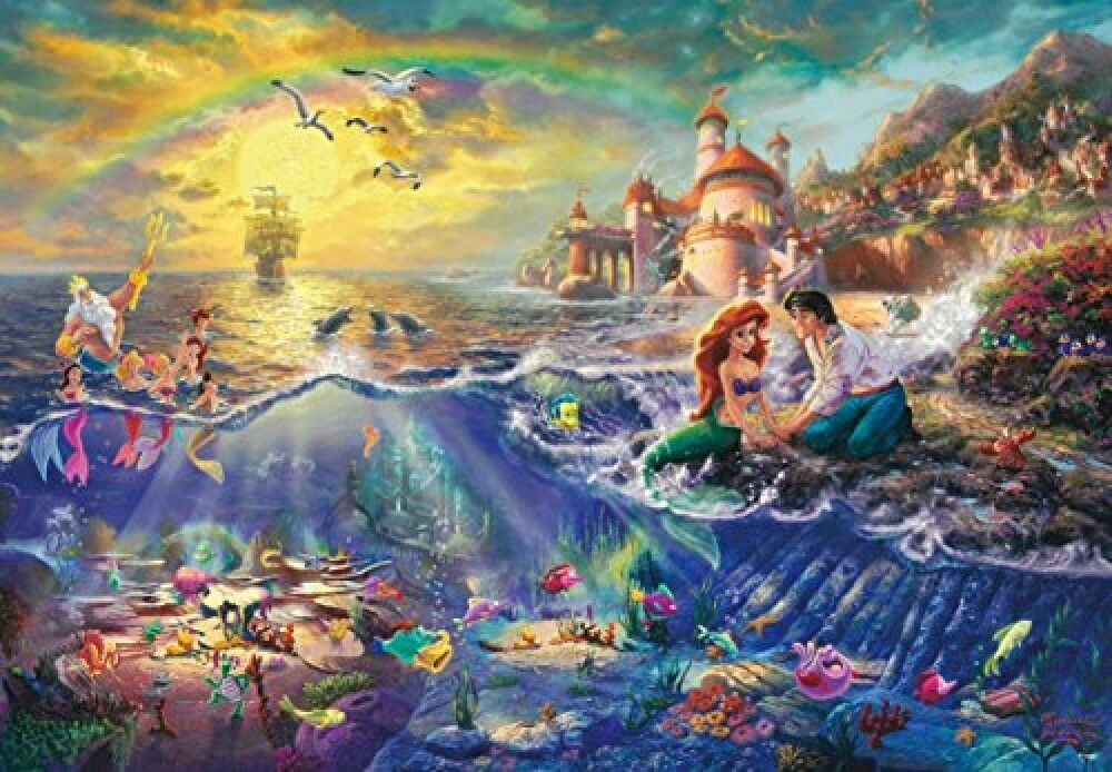 NEW 1000 Piece Jigsaw Puzzle THE LITTLE MERMAID 51 x 73.5 cm genuine From JAPAN