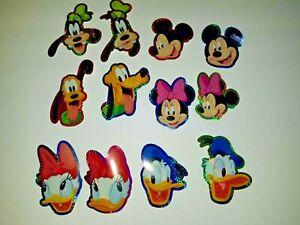 Vintage Sandylion Stickers Disney Magic Kingdom Florida 2 Sealed Packs- 5 12 x 12 Disney Family Vacation Stickers