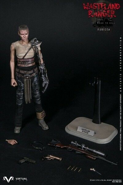 VTS Toys Wasteland Ranger Mad Max Fury Road Imperator Furiosa Sixth Scale Figure