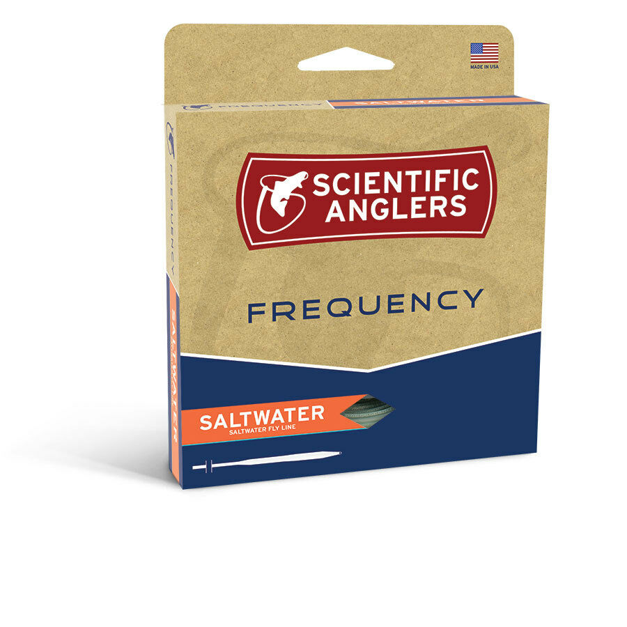 SCIENTIFIC ANGLERS FREQUENCY SALTWATER WF-7-F WT FLOATING FLY LINE IN HORIZON