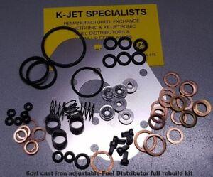 0438100063 Fuel Distributor 6cyl Cast Iron Adjustable type Repair Kit