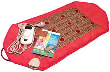 Natural Amethyst Stone Photon Negative Ions FIR InfraRed Heating Healing Pad Mat