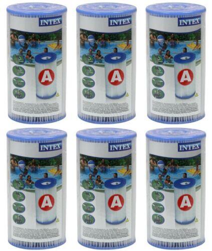 K 6 x Intex Typ a Filterkartusche 29000 Filter Kartusche Filterpatrone Pool,