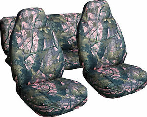 Jeep Wrangler Tj Seat Covers Amp Tire Cover In Camo Pink