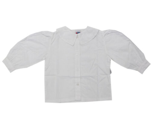 80,86,98,104,110,122 Kanz Camicia manica lunga Camicia Bianca 100/% COTONE BAMBINI MIS