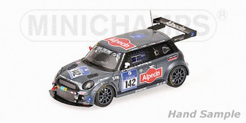 MINICHAMPS - BMW MINI COOPER Von 24H ADAC Nurburgring 2010 Bohlen Grohs Bar 1 43