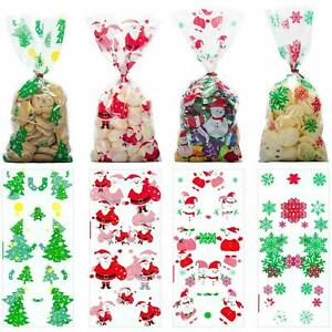 50Pcs-Christmas-Cellophane-Party-Bags-Treat-Candy-Bag-Christmas-Party-Favor-Gift