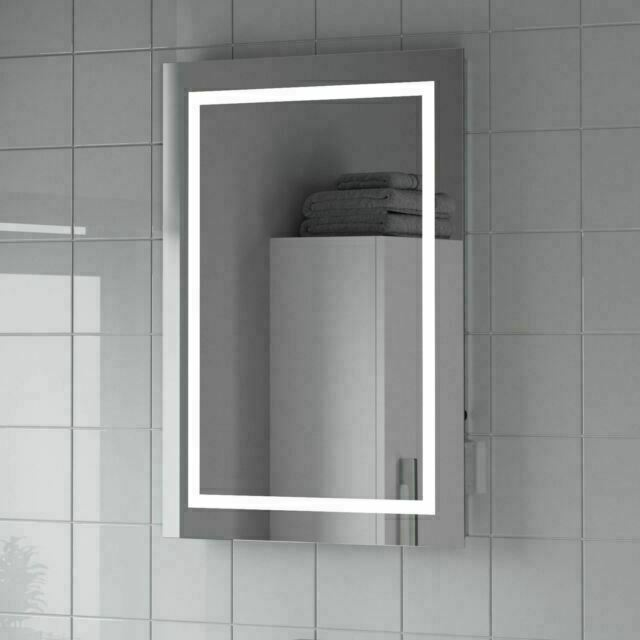 Artis Niteo 500x700 Mm Led Illuminated Bathroom Mirror Silver Mir119 For Sale Online Ebay