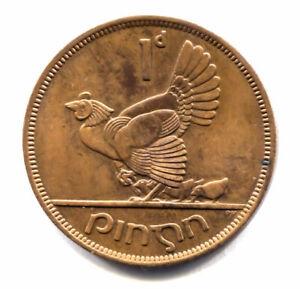1968 irish penny coin value