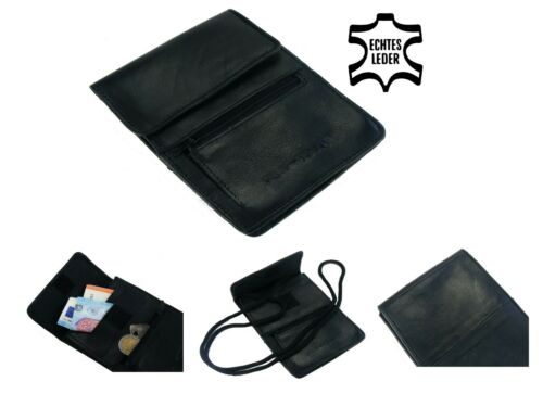 VOYAGE CUIR VERITABLE carte sac Poitrine Sachet sac poitrine Sac à bandoulière