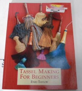 Tassel-Making-for-Beginners-by-Taylor-Enid-Paperback-Book-The-Fast-Free