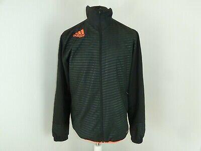Adidas Trainingsjacke Leichte Jacke Schwarz Orange W