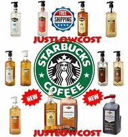 Starbucks Syrups Sauces Caramel Machiatto Coffee Vanilla Classic Kit Fontana