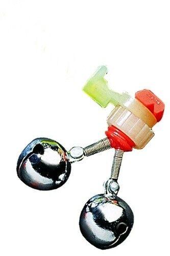 Jenzi Doppel-Aal-Glocke mit Knicklichthalter
