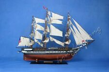 """30"""" USS CONSTITUTION WOODEN MODEL SHIP SAILING BOAT"""