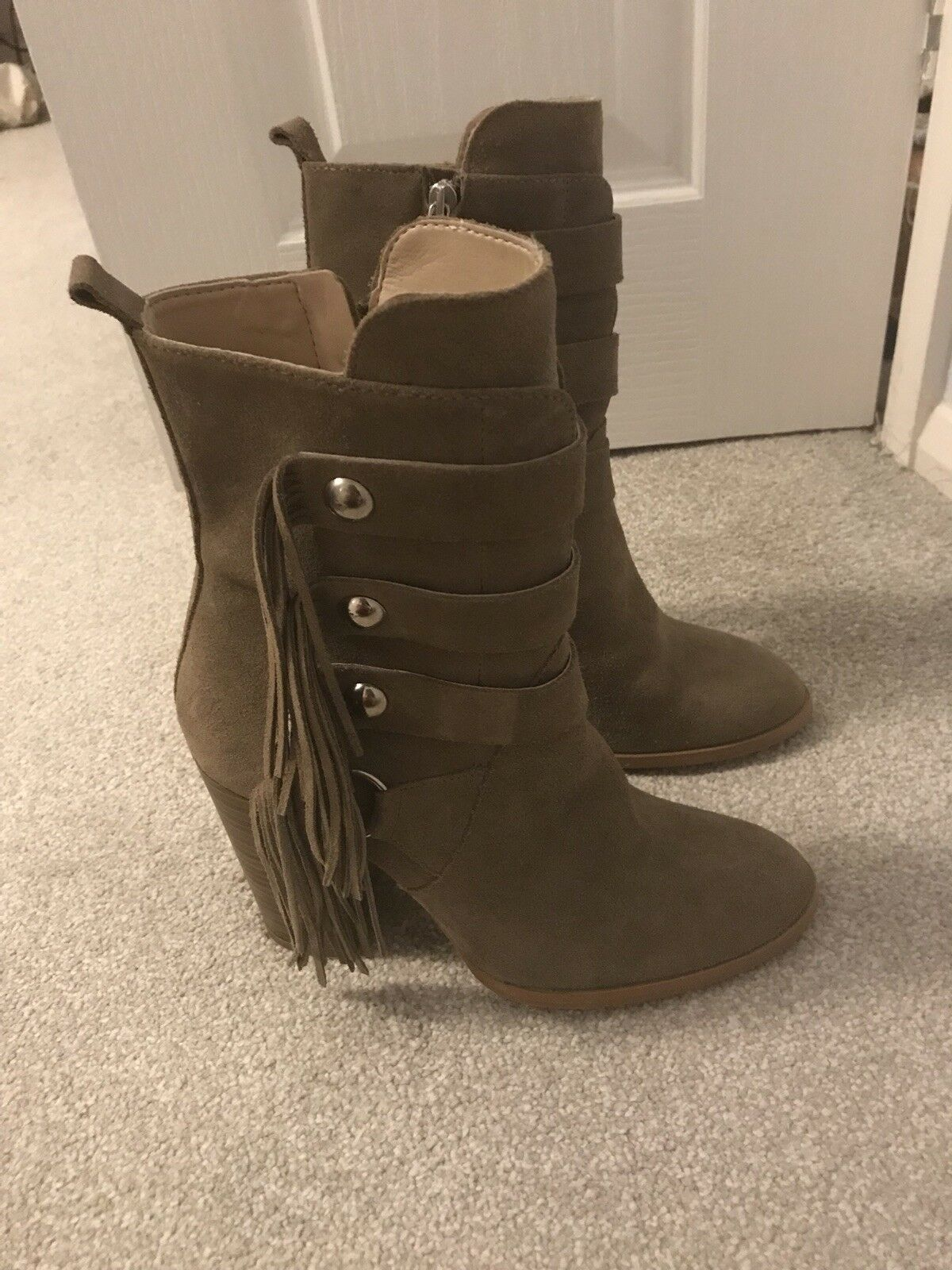 Brand new Zara Leather Boots size 38