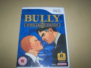 Details about Bully - Scholarship Edition Wii **New & Sealed**